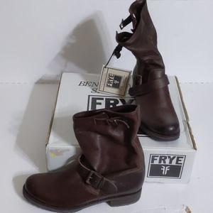 Frye (10) Veronica Shortie Vintage Leather Boots
